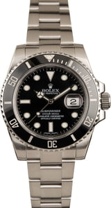 Used Rolex Steel Submariner 116610LN Ceramic Bezel