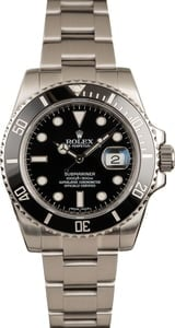Rolex Submariner Sub 116610 Ceramic Bezel