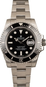 Pre-Owned 40MM Rolex Submariner 116610 Ceramic