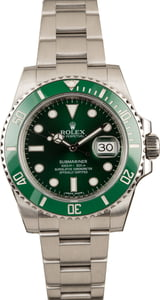 Pre-Owned Rolex Submariner 116610V Hulk Ceramic