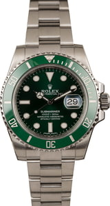 Used Ceramic Rolex Submariner 116610V Green Hulk