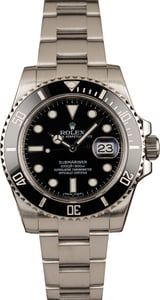 Used Rolex Submariner 116610LN Ceramic Insert