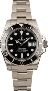 Pre-Owned Rolex Submariner 116610 Ceramic Watch 40MM