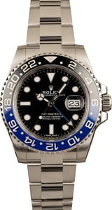 Pre-Owned Rolex 116710 GMT-Master II Black & Blue Batman