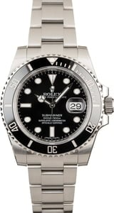 Rolex Submariner Black Dial 116610 Ceramic Bezel