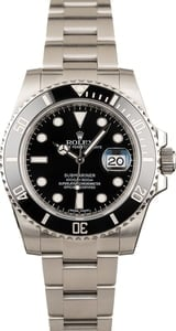Rolex Black Ceramic Submariner 116610LN