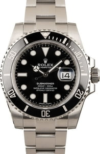 Used Rolex Submariner 116610 Stainless Steel Oyster