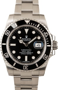 Submariner Rolex Model 116610 Ceramic Stainless