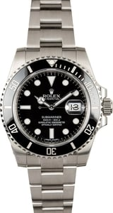 Rolex Submariner 116610 Ceramic Black Bezel - Mint Condition