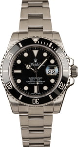 Pre-Owned Rolex Submariner 116610 Men's Watch