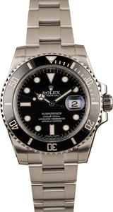 Submariner Rolex 116610 Ceramic Black Bezel