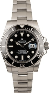 Used Rolex Submariner 116610 Ceramic Insert Bezel