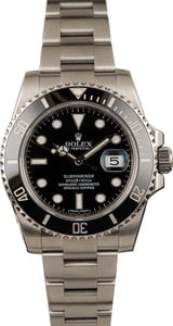 Used Rolex Submariner 116610LN Ceramic Bezel