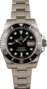 Used 40MM Rolex Submariner 116610 Steel Bracelet