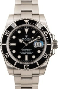 Rolex Submariner 116610 Black Ceramic Bezel