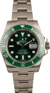 Used Rolex Submariner 116610V Hulk Ceramic Model