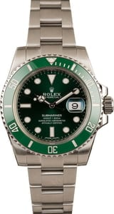 Used Rolex Submariner 116610V Green Hulk Ceramic Model