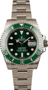 Pre-Owned Rolex Submariner 116610V Hulk Ceramic Watch