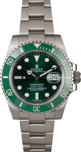 Rolex Submariner 116610V 'Hulk' Green Ceramic Bezel