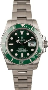 Used Rolex Submariner 116610V Hulk Model