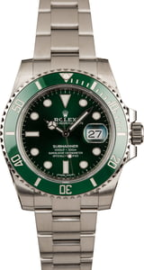 Used Rolex Submariner 116610V Green Ceramic Hulk Model