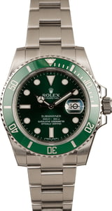 Used Rolex Submariner 116610V Green 'Hulk' Steel Men's Watch