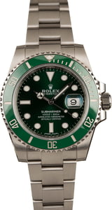 "Rolex ""Hulk"" Submariner 116610VLV Green Dial"