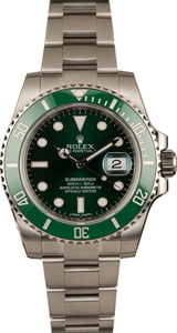 Unworn Rolex Submariner 116610V Hulk Ceramic Model