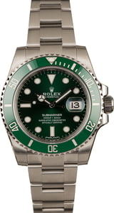 Unworn Rolex Submariner 116610V Ceramic 'Hulk'
