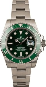 Used Rolex Submariner 116610V Green Hulk Model