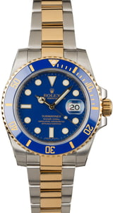 Used Rolex Submariner 116613 Blue Ceramic Bezel