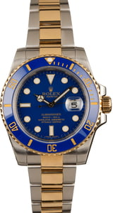 Used Rolex Submariner 116613 Two Tone Oyster Bracelet
