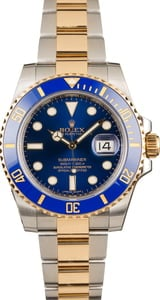 Rolex Ceramic Submariner 116613 Blue Dial