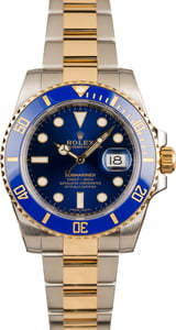 Rolex Submariner 116613 Blue Ceramic Timing Bezel