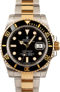 Rolex Submariner 116613 Two-Tone Black