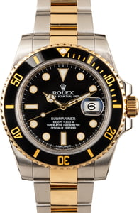 Men's Rolex Submariner 116613 Black Dial