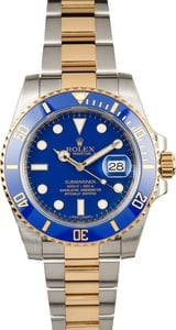 Rolex Ceramic Submariner 116613 Blue Bezel