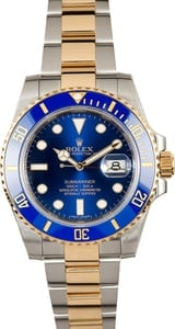 Rolex Submariner 116613 Steel and Gold 100% Authentic