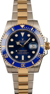 Rolex Submariner Two-Tone 116613 Ceramic Blue
