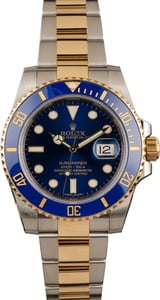 Used Rolex Submariner 116613LB Ceramic Model