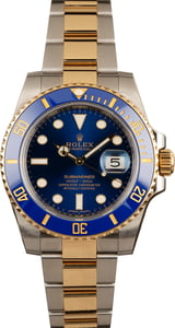Pre-Owned Rolex Submariner 116613 Two Tone Watch