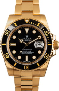 Rolex Gold Submariner 116618