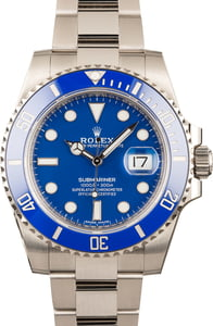 Pre-Owned Rolex Submariner 116619 Blue Dial & Bezel