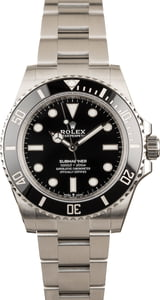 Rolex Submariner 124060 Steel 41MM