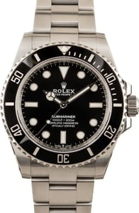 Rolex Submariner 124060 Black