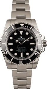 Used Rolex Submariner 114060 Ceramic