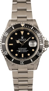 Pre Owned Rolex Submariner 16610 Oyster Band