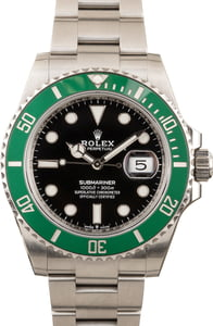 Rolex Submariner Date 126610lv Green Ceramic