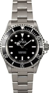 Men's Rolex Submariner 14060 Stainless Steel