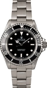 Men's Rolex Submariner 14060 Black Bezel